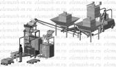 МР339-1 - линия по смешиванию и фасовке антигололедных смесей