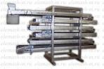 Охлаждающий конвейер для кондитерских и хлебобулочных изделий