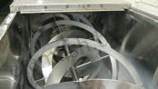 Шнековый смеситель СГШ 2000 (вид изнутри)