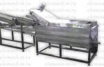 Линия жарки чипсов (снеков) из пеллет до 250 кг./час
